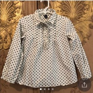 Baby Gap polka dot top sz 5